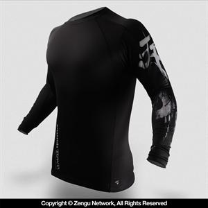 PunchTown Deranged Long Sleeve Rashguard